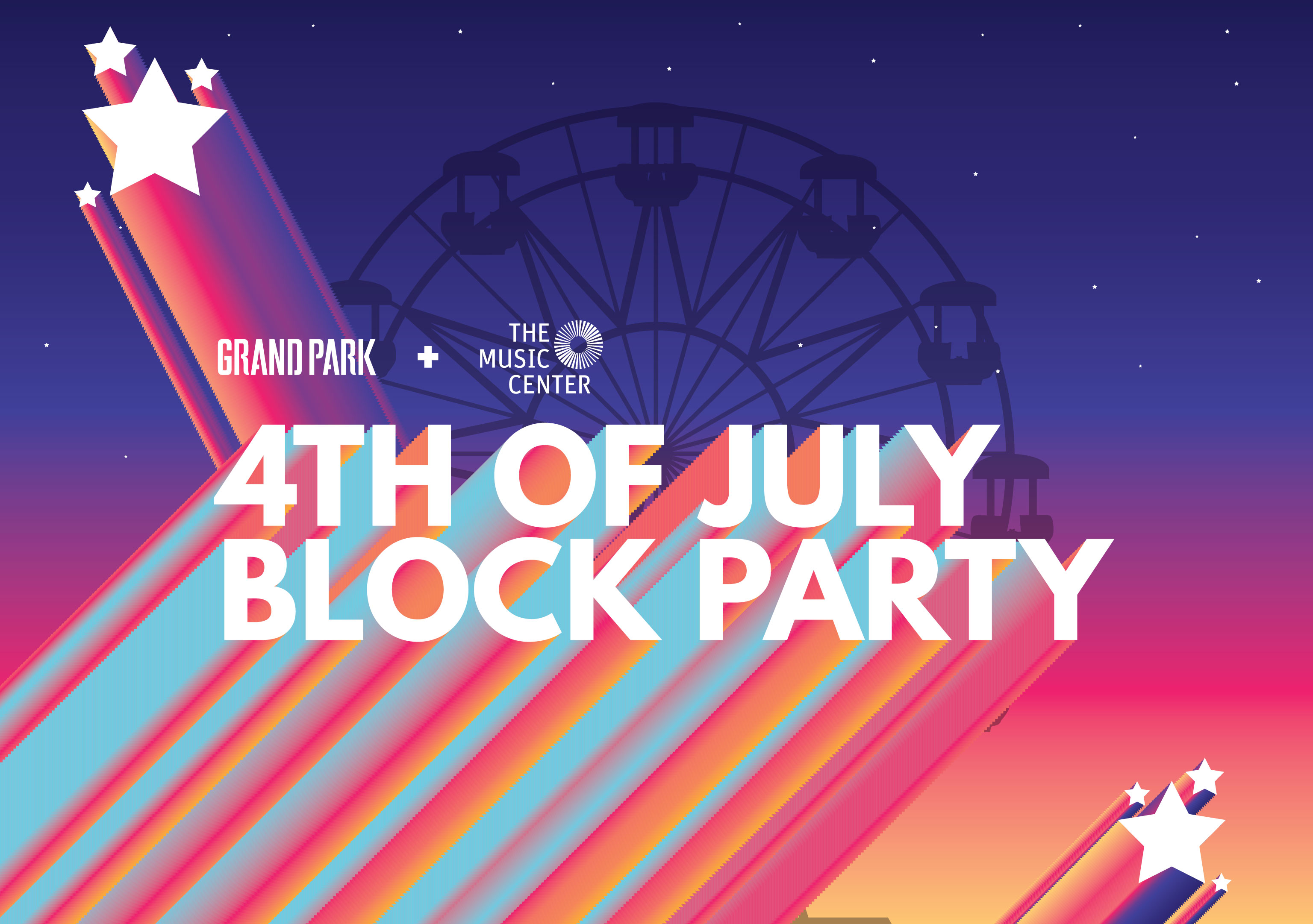 4th Of July Block Party, 2019 / Grand Park + The Music Center